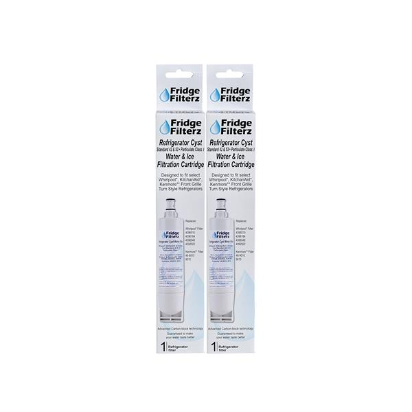 FridgeFilterz Refrigerator Water Filter for Kenmore (2 Pack)