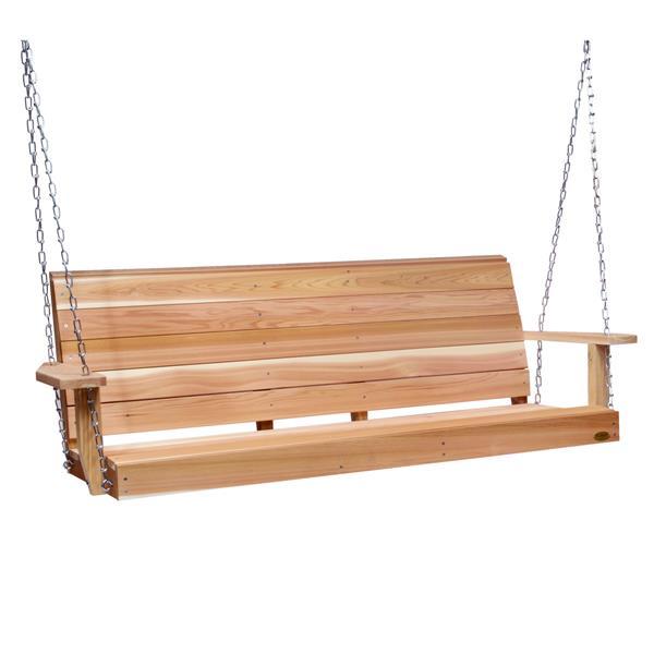 All Things Cedar Porch Swing - 6'