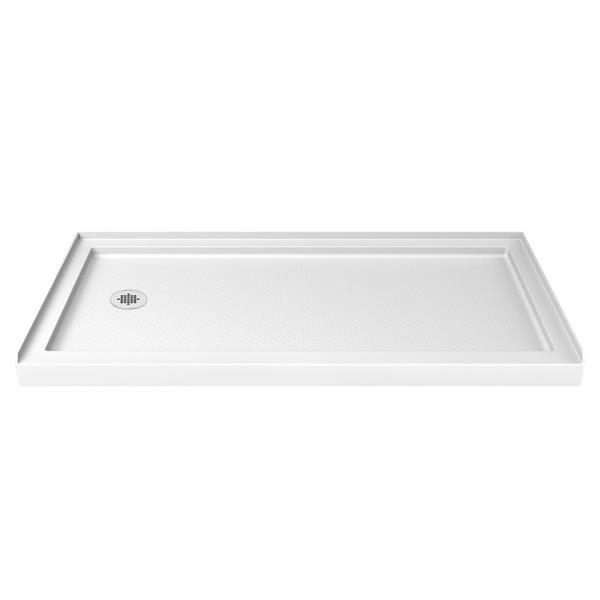 DreamLine SlimLine Shower Base - 32-in x 60-in - Acrylic - White