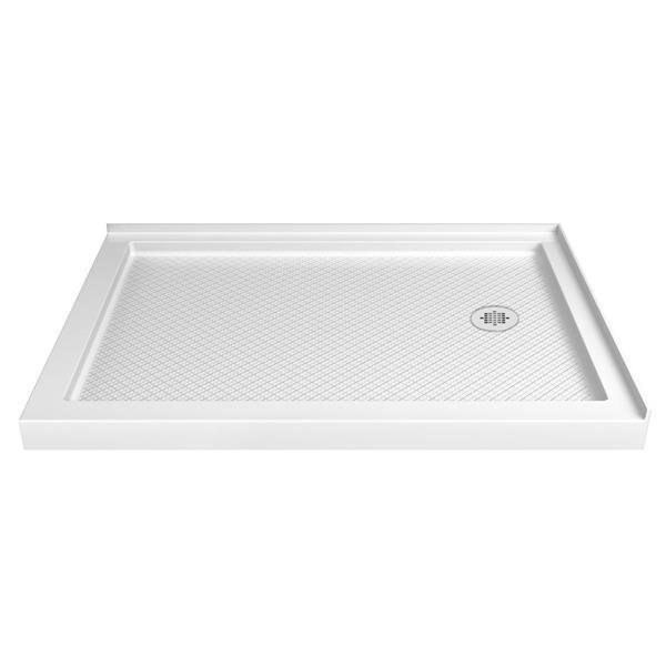 DreamLine SlimLine Shower Base - 36-in - Acrylic - White