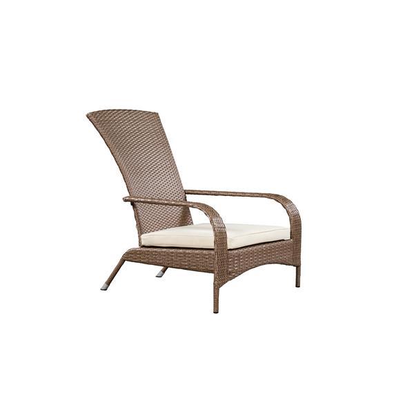 Wicker Muskoka Outdoor Chair - Brown