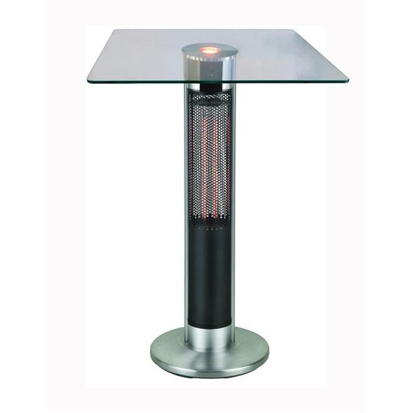 Chauffe-terrasse électrique Energ+  Infra-rouge, 1500 watts
