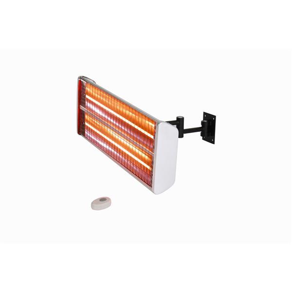 "EnerG+ Outdoor Wall-Mounted Heater - 1500 Watts - 16.69"""