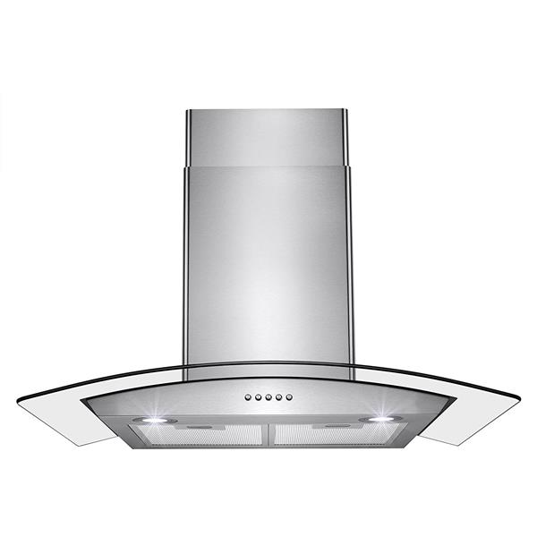 "Turin Innovation Wall Mounted Range Hood - 30"" - 800 CFM"