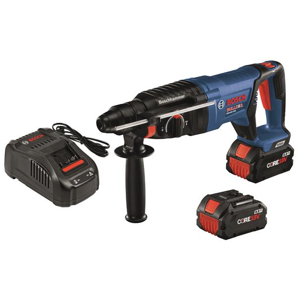"Bosch EC Brushless Bulldog(TM) Rotary Hammer Kit - 1"" - 18V"