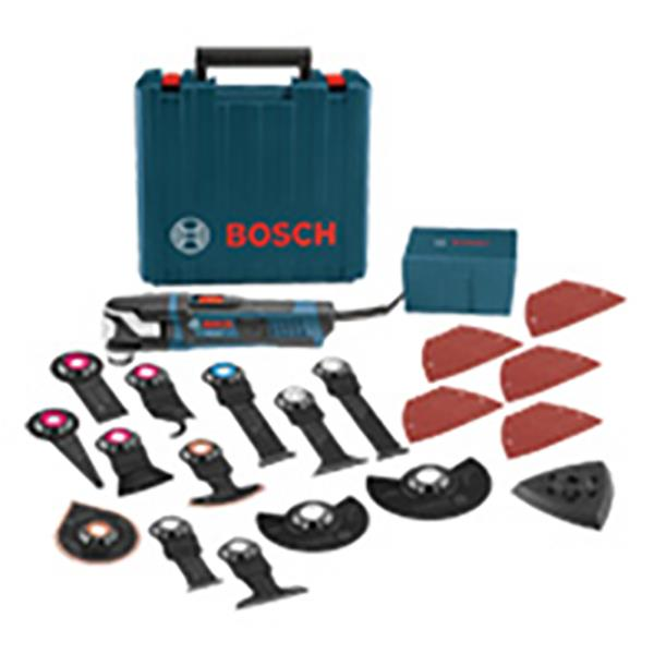 Bosch StarlockMax(R) Oscillating Multi-Tool Kit Corded - 40 pc