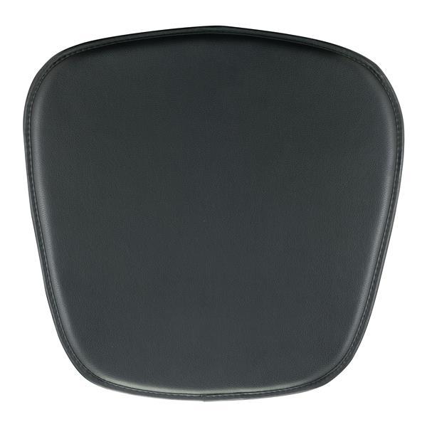 Zuo Modern Chair Cushion - 15-in x 17-in x 17-in - Black