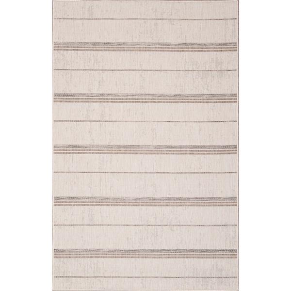 Erbanica Indoor-Outdoor Polypropylene Rug - Sand - 7' x 9'