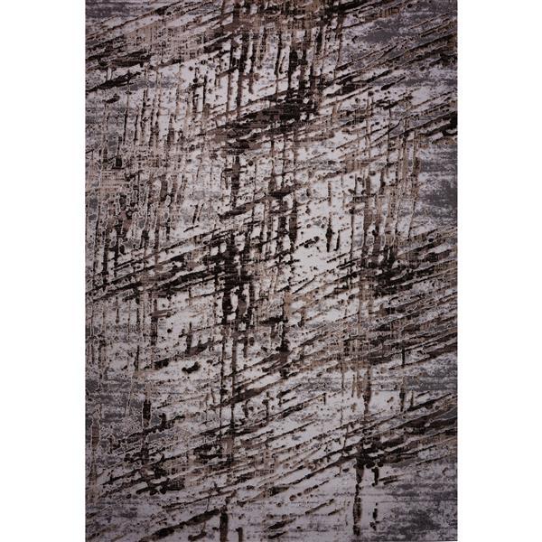 Segma Melissa Area Rug - 5-ft x 8-ft - Polypropylene - Brown