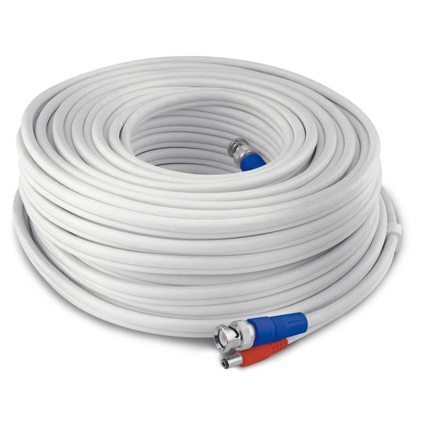 Swann HD Video and Power Cable - 200ft / 60m - White