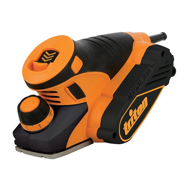 Triton Tools Compact Palm Planer - 450W - Black/Orange