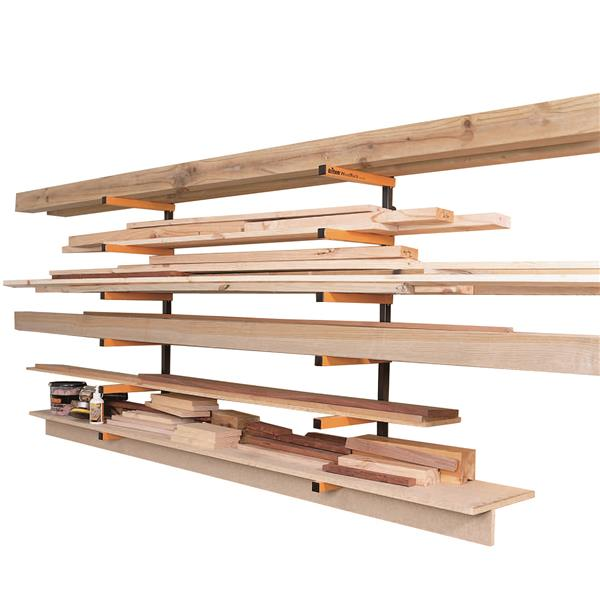 Triton Tools Rack Storage System - 6 levels - Orange/Black