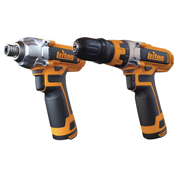 Triton Tools Drill and Impact Driver Combo Kit - 12 V