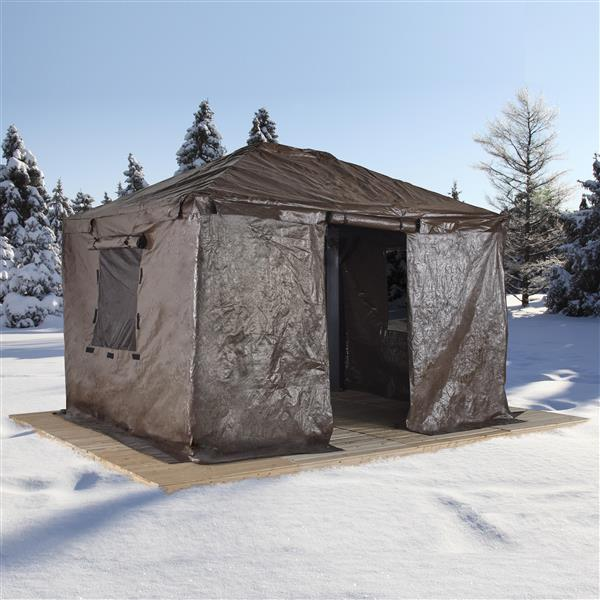 Sojag Winter Cover for 12-ft x 16-ft Sojag® Sun Shelters - Brown