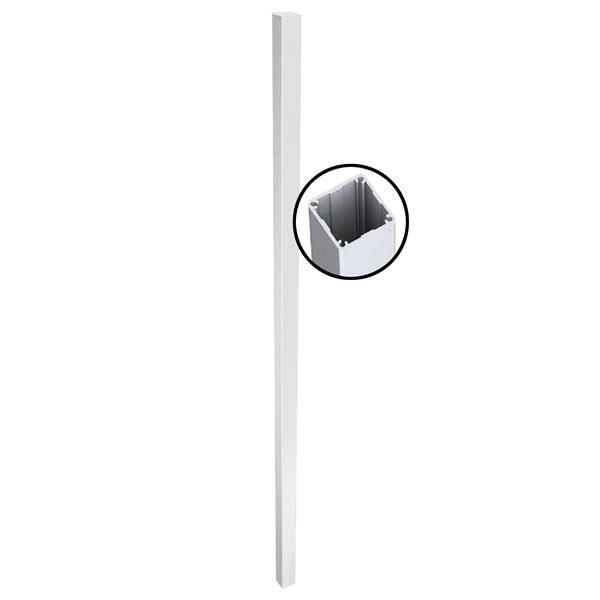 "Stratco Quick Screen Aluminum 1 way  Post - 94"" x 2.5"" - White"