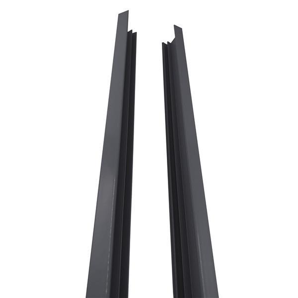 "Stratco Quick Screen Aluminum Side Frame - 2"" x 71"" - Black"