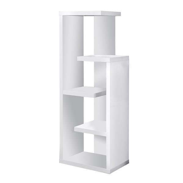 Monarch Bookcase - 48-in - White