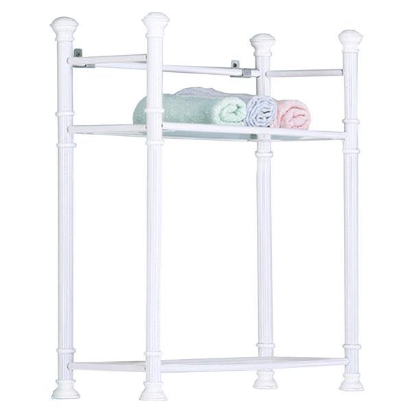 "Bathroom Shelf - 26"" - White"