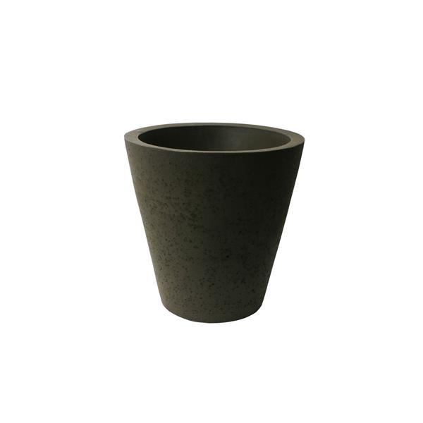 "Algreen Products Crete Self-Watering Planter - 16.5"" x 16"" - Brownstone"