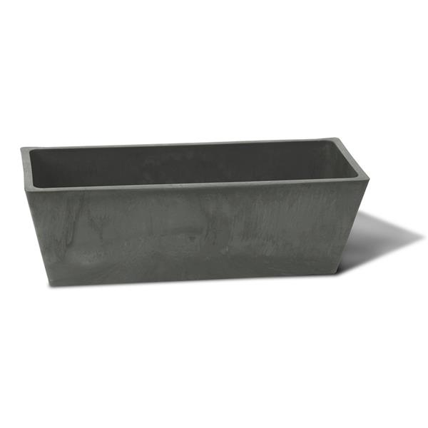 "Algreen Products Valencia Windowsill Planter - 20"" x 6.5"" - Slate"