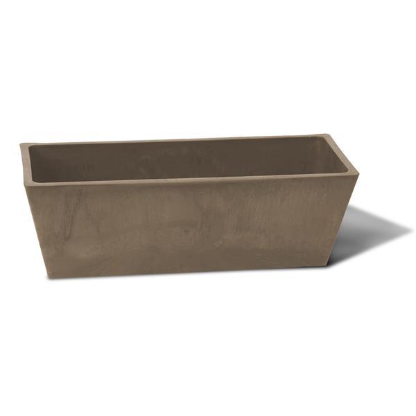 "Algreen Products Valencia Windowsill Planter - 20"" x 6.5"" - Taupe"