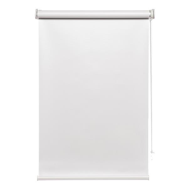 """Toile à rouleau opaque avec chaînette Avanat, 60""""x70"""", blanc"""