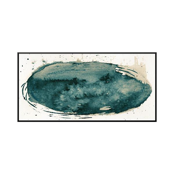 Stella.B Decor DIAMOND Framed Canvas with Black Frame - 48-in x 24-in