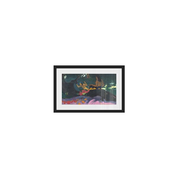 Stella.B Decor FATEMITI Framed Print with Black Frame - 24-in x 16-in