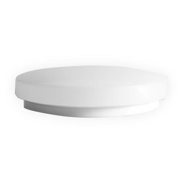 SmartRay LED Flush Mount Light - 11-in - White