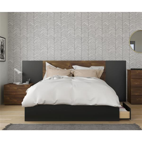 Bogota Bedroom Set - 4 Pieces - Truffle - Queen