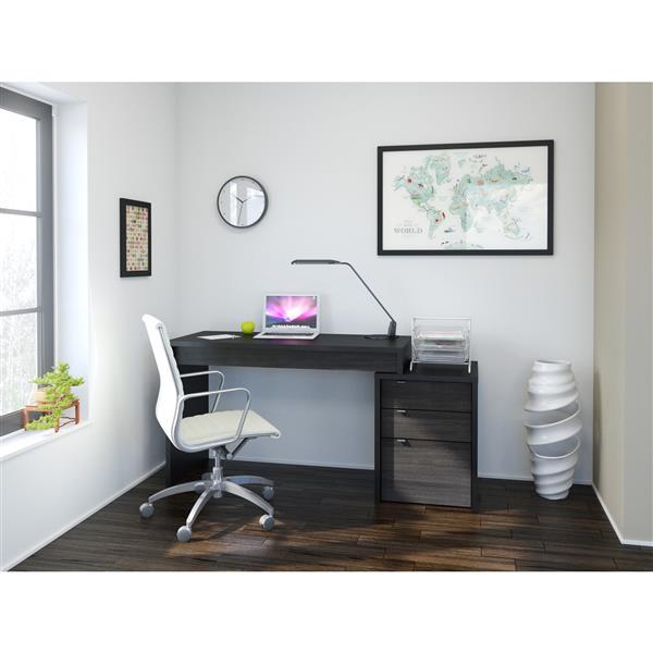 Nexera Sereni-T Home Office Set - 2 Pieces - Black
