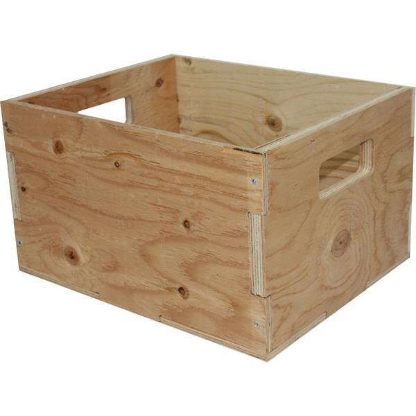"""Caisse en bois d'épicéa robuste, rustique, 15.5""""x 12.25"""""""