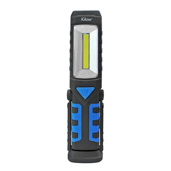 "iGlow 3W LED Work Light - 2.2"" x 8.7"" - Black/Blue"