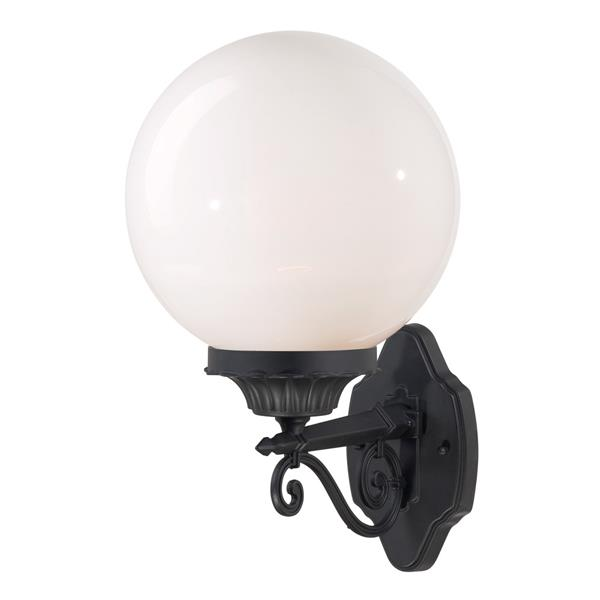 "Acclaim Lighting Havana 1-Light Wall Mount Lantern - 9.9"" x 17"" - Black"