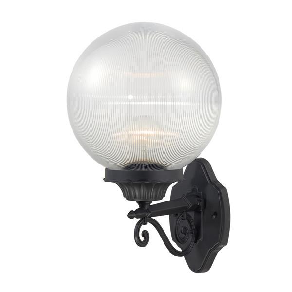 "Acclaim Lighting Havana 1-Light Wall Mount Lantern - 10"" x 17"" - Black"