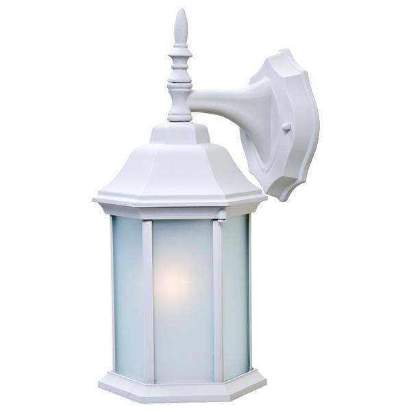 """Acclaim Lighting Craftsman 2 Wall Mount Lantern - 6.25"""" x 13"""" - White"""