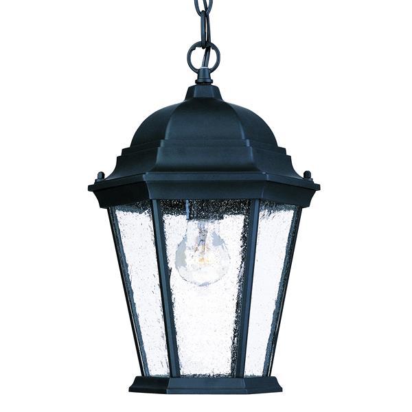 "Acclaim Lighting Richmond 1-Light Hanging Lantern - 14"" - Black"