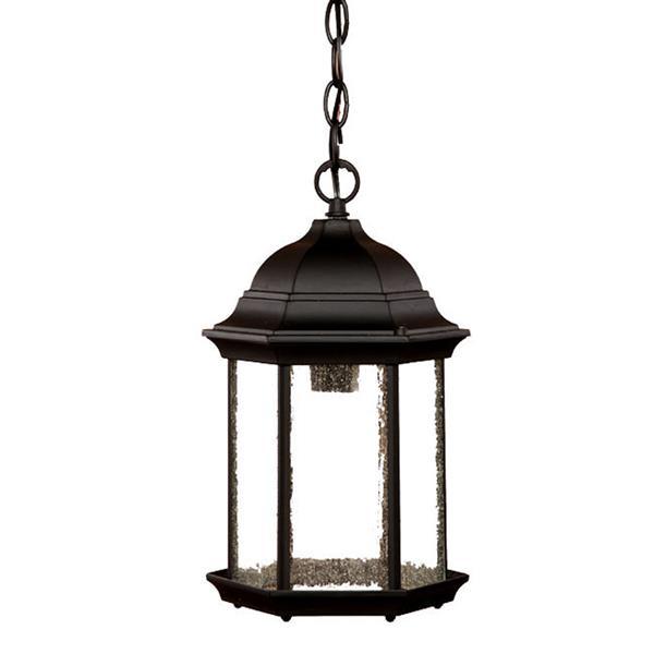 """Acclaim Lighting Madison 1-Light Hanging Lantern - 14"""" - Black"""