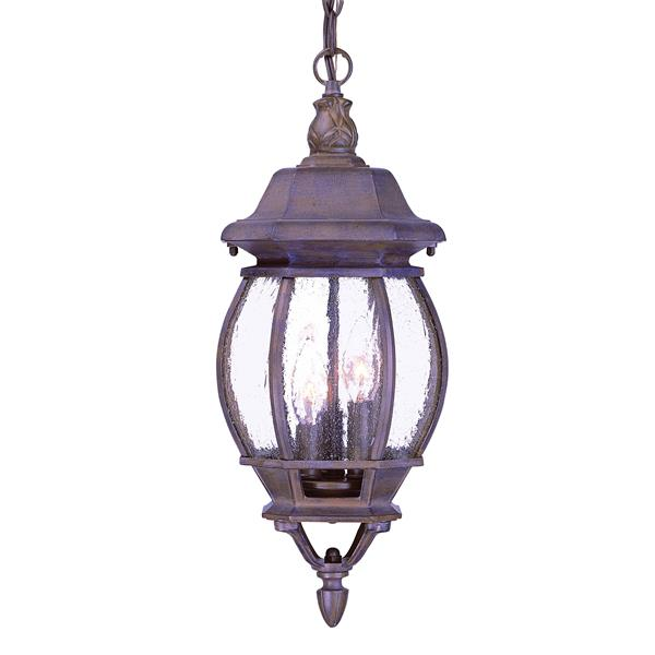 "Acclaim Lighting Château 3-Lights Hanging Lantern - 19.5"" - Walnut"
