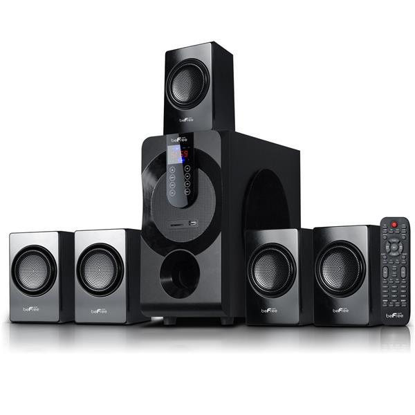 Beefree Sound Bluetooth Speaker System - 22-in x 19-in - Black - 5 pcs