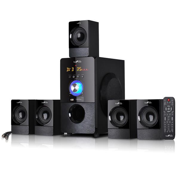 """Ensemble de système haut-parleur Bluetooth, 22"""" x 19"""", noir"""
