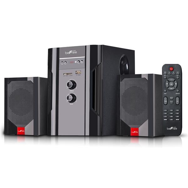 Beefree Sound Bluetooth Speaker System - 14.15-in x 6.30-in - Black - 4 pcs