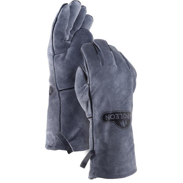 Napoleon BBQ Gloves - Genuine Leather - Gray