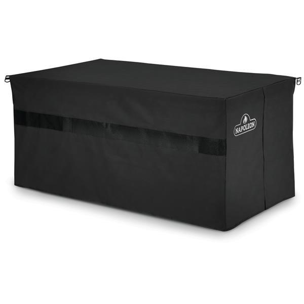 """Housse pour table rectangulaire Patioflame, 54"""" x 25"""", noir"""