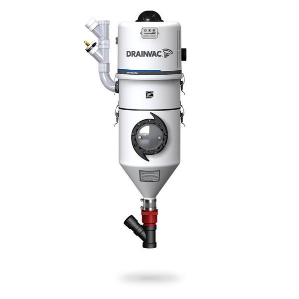 Drainvac Automatik Central Vacuum - Bagless -  18 L