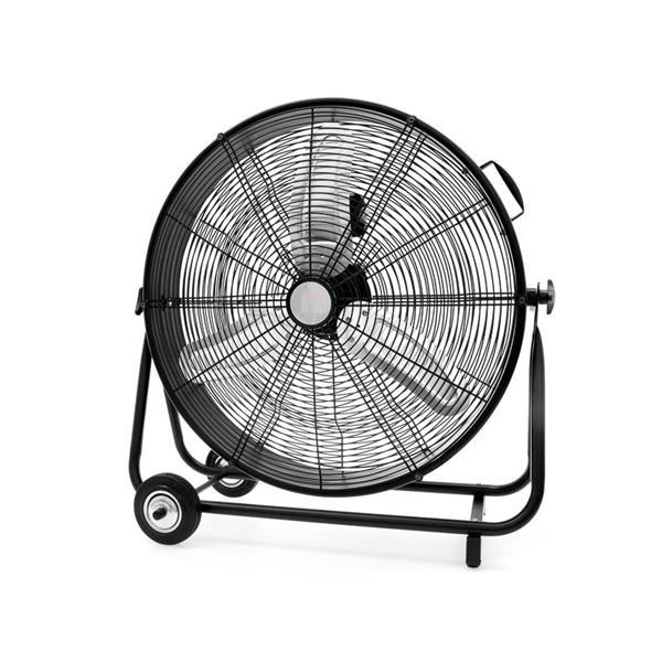 Ecohouzng Utility Drum Fan - 24 inch - Black