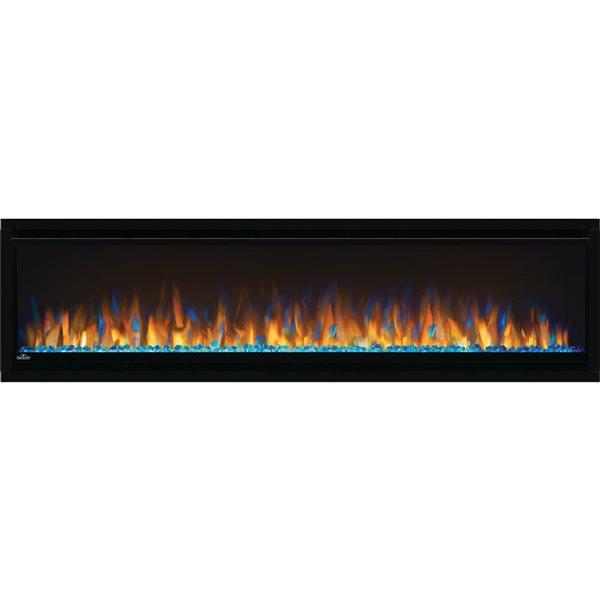 Napoleon Alluravision Slim Wall Electric Fireplace - 60-in