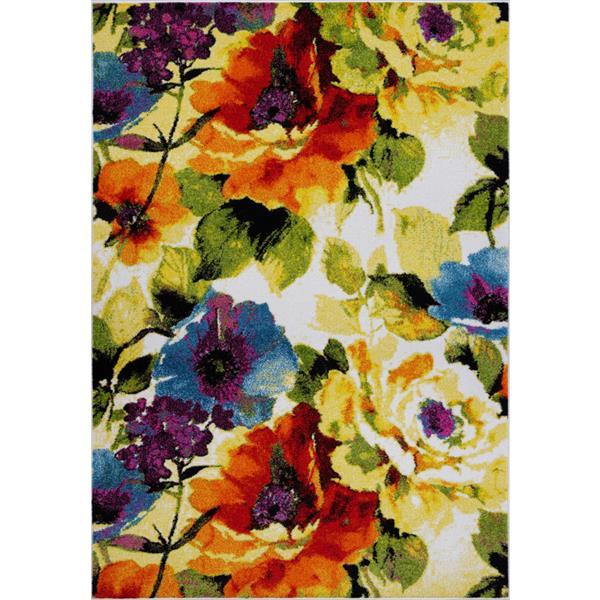 La Dole Rugs®  Contemporary Rectangular Rug - 3' x 10' - Multicolour