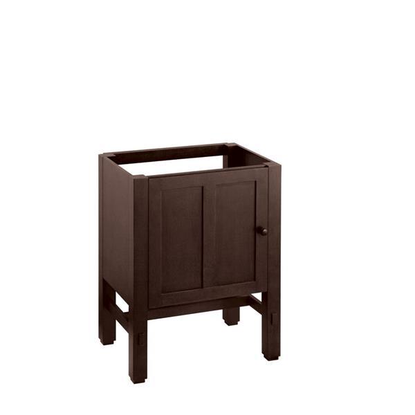"Meuble-lavabo Tresham, 24"" x 32,5"", brun"