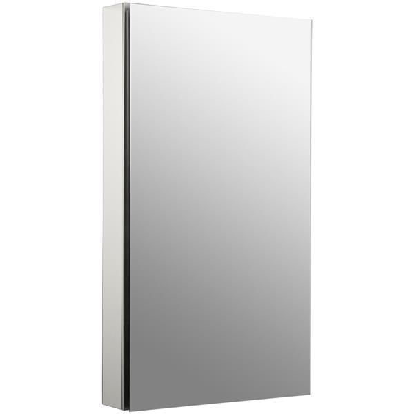 KOHLER Catalan Medicine Cabinet - 20.13-in x 36.13-in - Aluminum
